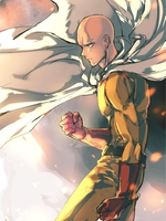 Anime One-Punch Man Saitama Art