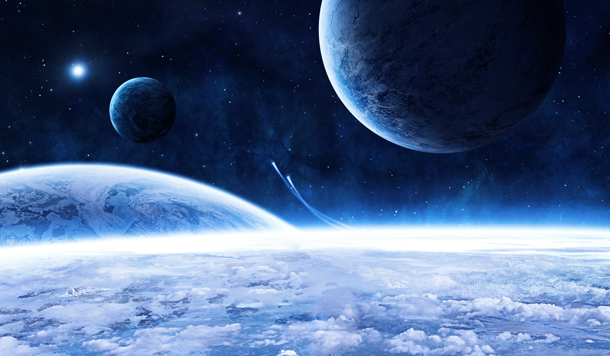planets and space - HD